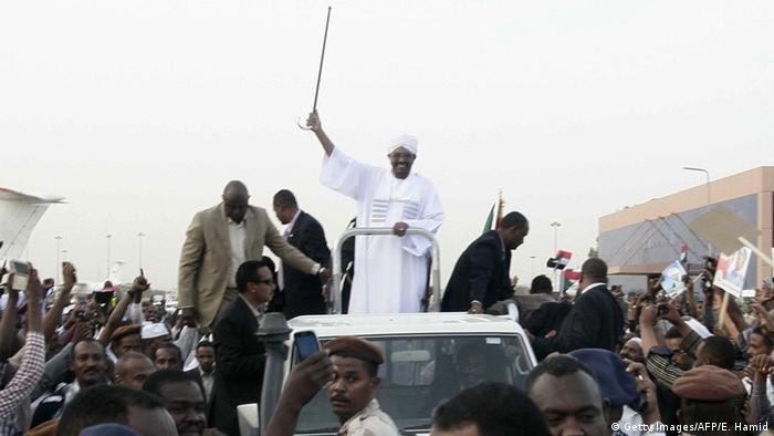 Omar al-Baschir im Sudan