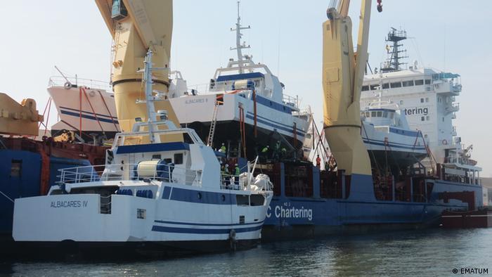 Os barcos da EMATUM que nunca funcionaram