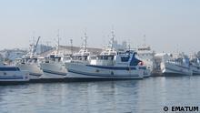 Schiffe von EMATUM in Mosambik
