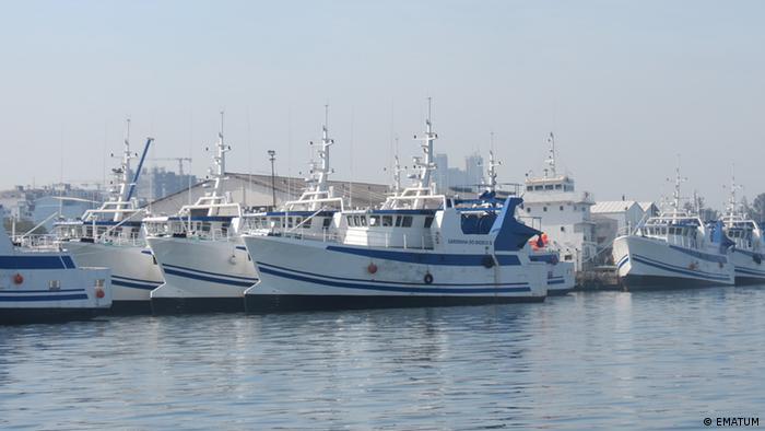Barcos da Ematum, uma das três empresas envolvidas nas dívidas ocultas