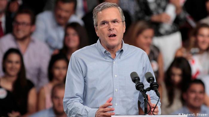 Jeb Bush, onceno precandidato republicano.