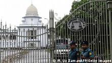 Bangladesch Gerichtshof in Dhaka hat die Totesstrafe gegen Ali Ahsan Mohammad Mujahid bestätigt