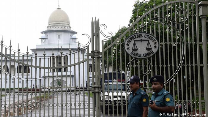 Bangladesch Gerichtshof in Dhaka hat die Totesstrafe gegen Ali Ahsan Mohammad Mujahid bestätigt (M. Uz ZamanAFP/Getty Images)