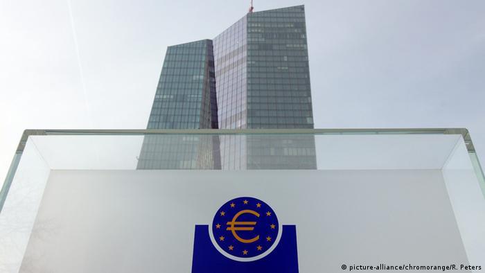 Deutschland Europäische Zentralbank (EZB) in Frankfurt am Main