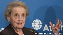 USA Madeleine Albright Ex-Außenministerin