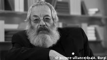 Deutschland Schriftsteller und Übersetzer Harry Rowohlt