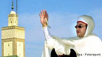 Marokkos König feiert Opferfest