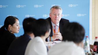 Peter Limbourg, director general de DW.