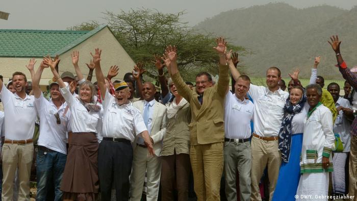 Äthiopien Eröffnungsfeier der Target Klinik in Afar (DW/Y. Gebreegziabher)