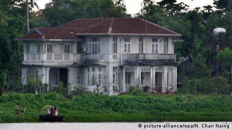 Myanmar Haus der Oppositionsführerin Aung San Suu Kyi