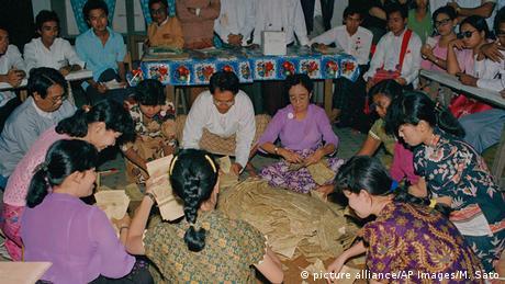 Myanmar Wahlen 1990