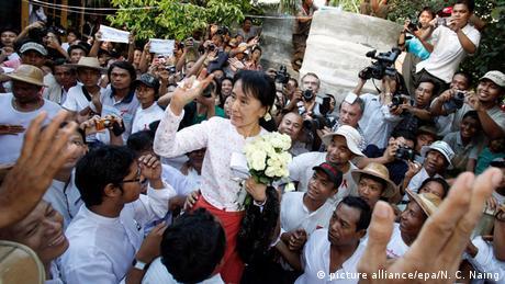 Myanmar Aung San Suu Kyi Freilassung