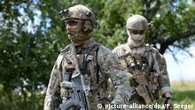 Deutschland Bundeswehr KSK Kommando Spezialkräfte