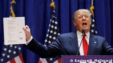 New York Donald Trump Bekanntgabe Kandidatur Präsident