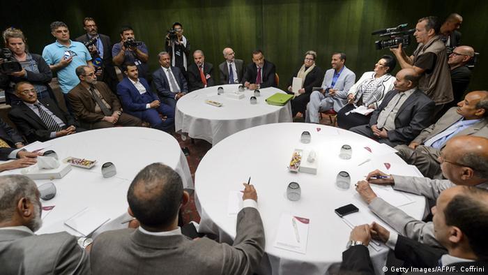 UN Genf Gespräche Jemen