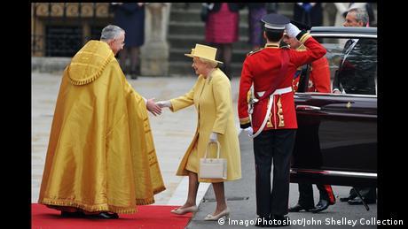 Königin Elisabeth II. Hochzeit Catherine William