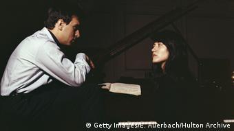 两位艺术家:阿格里奇与阿巴多(Claudio Abbado),1968年