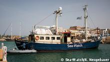 Sea-Watch im Hafen von Lampedusa (Sea-Watch/R. Neugebauer)
