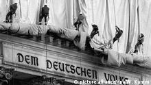 Bildergalerie 20 Jahre Reichstagsverhüllung Christo