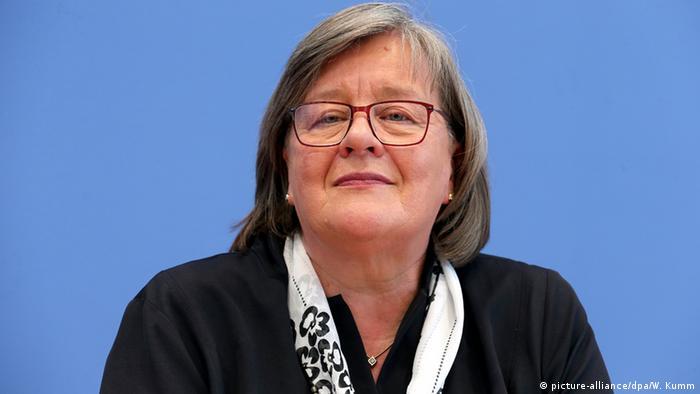 Die Bundesbeauftragte für Datenschutz und Informationsfreiheit, Andrea Voßhoff Foto: Wolfgang Kumm/dpa
