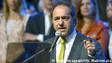 Argentinien Daniel Scioli Politiker