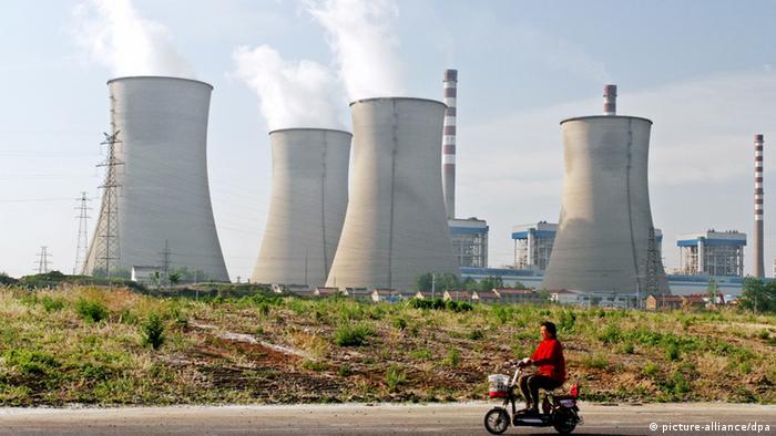 China Kohlekraftwerk in Huaian