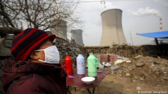 China Kohlekraftwerk in Shijiazhuang