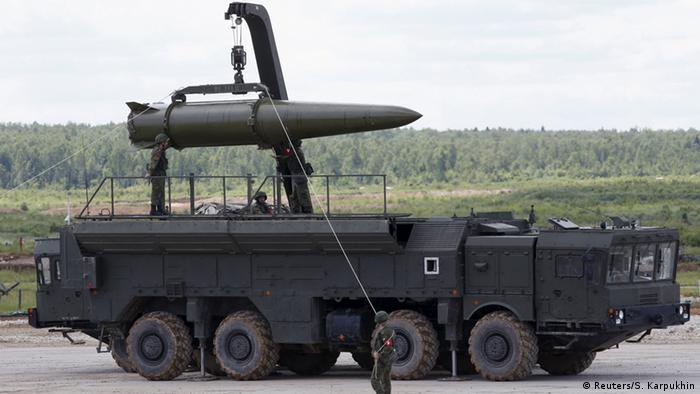 Russian Iskander rocket