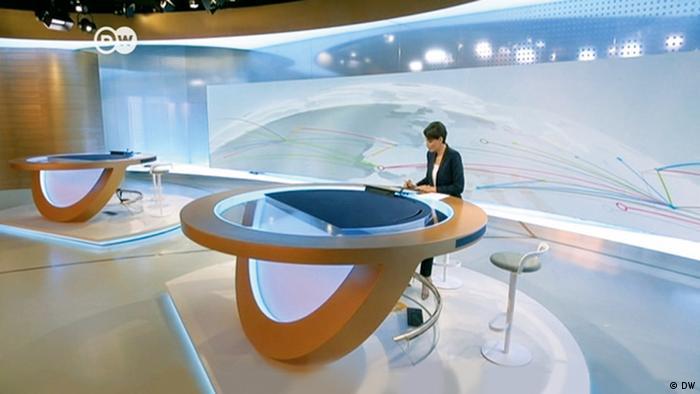 Новая телестудия DW в Берлине