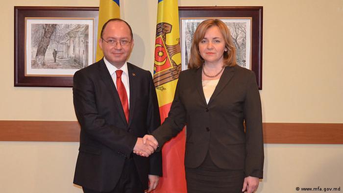 Bogdan Aurescu și Natalia Gherman