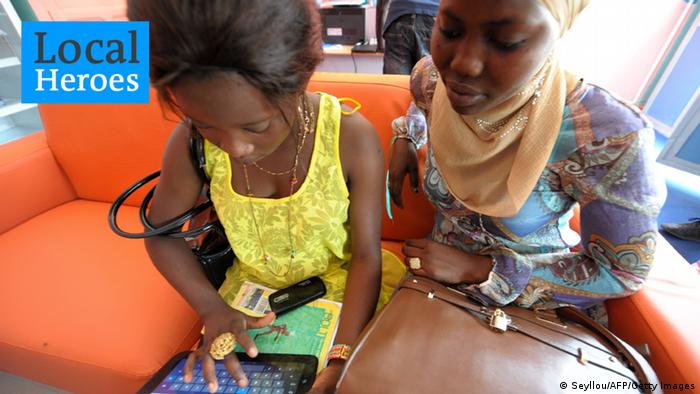 Afrika Computer Cybercafe in Dakar 2013 NEU