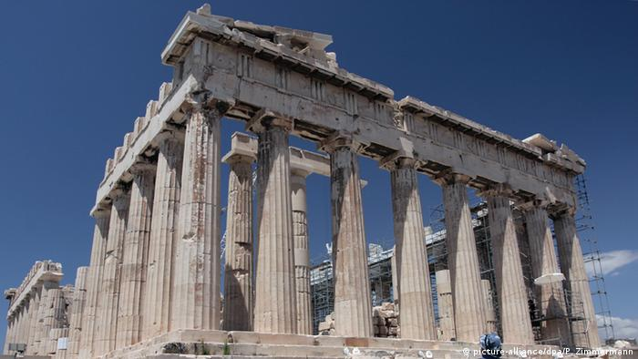 Greichenland Parthenon in Athen (picture-alliance/dpa/P. Zimmermann)