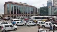 Angola Platz Largo da Mutamba in Luanda
