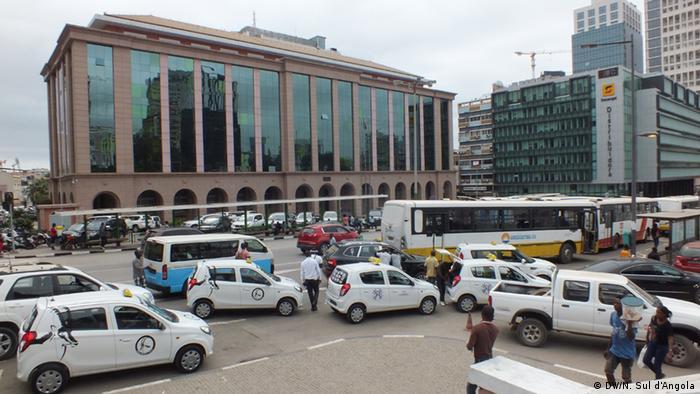 Ministério das Finanças, em Luanda