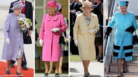 Bildkombo Queen Elizabeth II