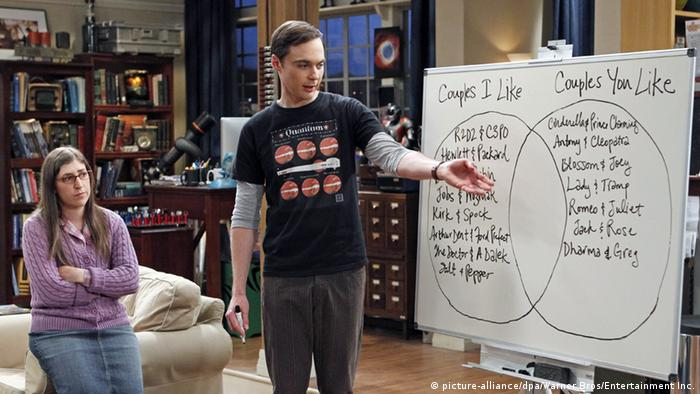 USA Jim Parsons Schauspieler in der Rolle als Sheldon Cooper (picture-alliance/dpa/Warner Bros/Entertainment Inc.)