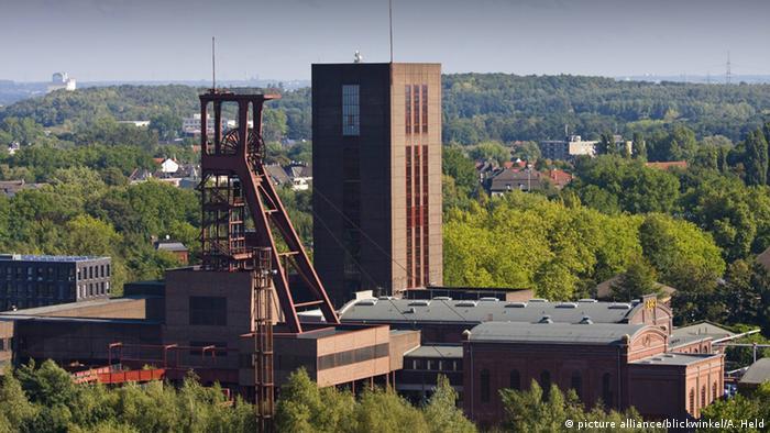 Coal mining industrial complex in Essen