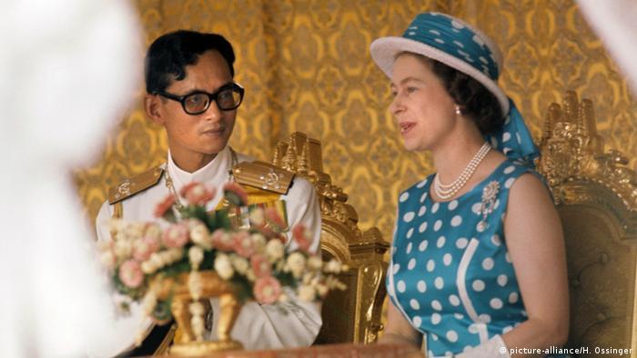 Thailand Queen Elizabeth II.