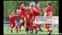 Cover DFB Broschüre Kinderschutz im Verein