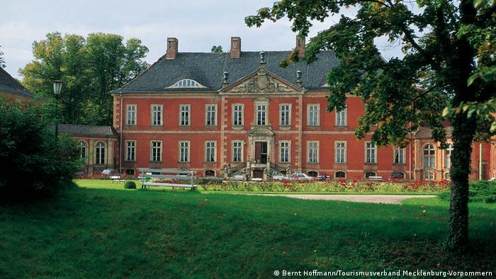 Замок Ботмер около города Клюц