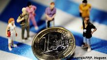 Symbolbild Griechenland Schuldenkrise