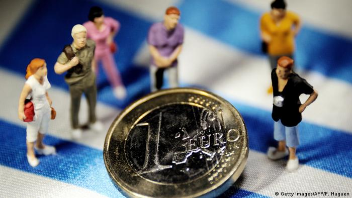 Symbolbild Greece crisis