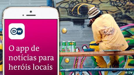 DW News App Portugiesisch Brasilien