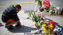 USA Schießerei in einer Kirche in South Carolina Trauer