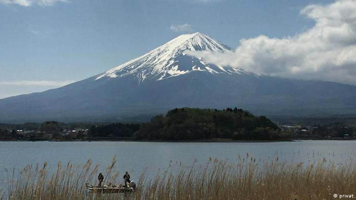 Fujisan, sacred place and source of artistic inspiration, Japan; Copyright: Vanarat from Thailand