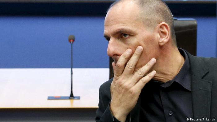Euro-Gruppe Luxemburg Varoufakis