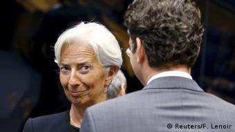 IWF Chefin Christine Lagarde in Brüssel (Foto: REUTERS/ Francois Lenoir)