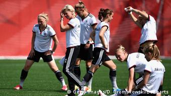 German women's team trains in Canada at the World Cup