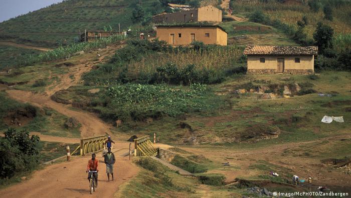 Ruanda Landschaft in der Nähe von Ruhengeri