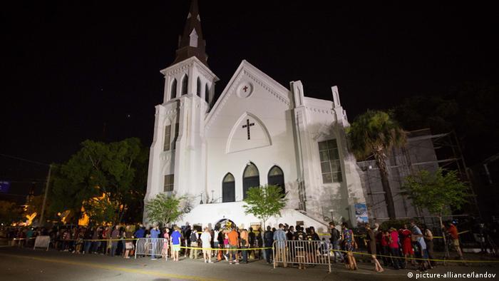 USA Schießerei in einer Kirche in South Carolina Reaktionen